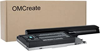 OMCreate 9 Cell Battery Compatible with Dell Latitude D630 D620, fits P/N PC764 PP18L - 12 Months Warranty