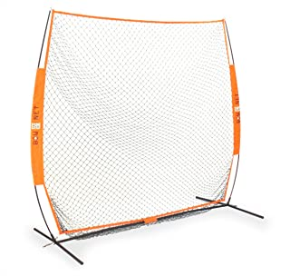 Bownet 7' x 7' Soft Toss Portable Practice Net with Frame