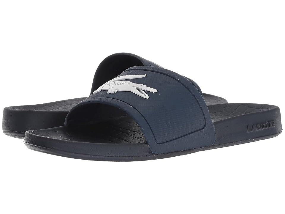 f7e88dd0c88c81 Lacoste Fraisier 318 2 P (Navy White) Women s Shoes