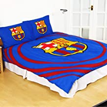 FC Barcelona Official Reversible Pulse Double Duvet Set (Double) (Blue/Maroon)