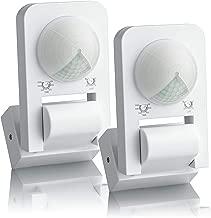 z/ócalo del sensor programable y bombilla LED 1200 W IP20 Conjunto De 2 Sebson Enchufe adaptador con movimiento Pir