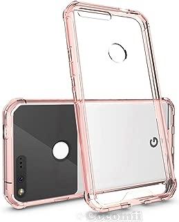 Cocomii Modern Armor Google Pixel XL Funda Nuevo [Claridad Cristalina] HD Anti-Amarilleo Anti-Rayado Antichoque Caja [Entallado] Transparente Case Carcasa for Google Pixel XL (Mo.Crystal Pink)