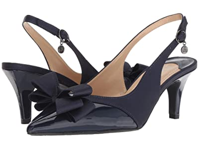 J. Renee Gabino (Navy/Navy) High Heels