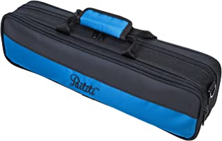 Paititi Lightweight C foot Flute Case, Large Exterior Packet with Detachable Shoulder Strap, Strong Durable and Fashionable