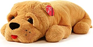 Niuniu Daddy Super Soft Stuffed Dog Plush Puppy Pillow, Cute Stuffed Animal Toy for Home Office Decoration 24 Inches Soft Animal Hugging Pillow