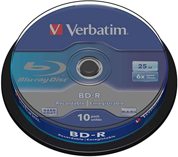 Verbatim Bd R Dual Layer Blu Ray Rohlinge 50 Gb I Computer Zubehör