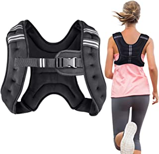 Adjustable Workout Weight 44LB Weighted Vest Exercise Strength Training Running