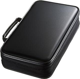 SANWA (Japan Brand 96 Large Capacity CD Case, Portable DVD/VCD Storage, EVA Protective Blu-ray Wallet, Binder, Holder, Boo...