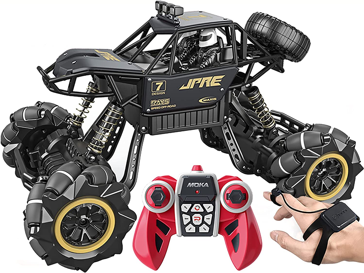 MYAOU High Speed RC Monster Trucks 4WD Road NEW before selling ☆ Remote Off Control 100% quality warranty