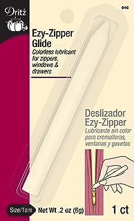 Dritz Ezy Glide Zipper Lubricant, 1 Pack, Clear
