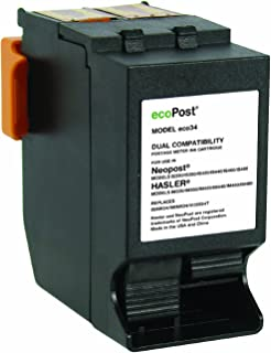 ecoPost ECO34 NeoPost Compatible Red Ink Cartridge Replacement for Hasler Postage Meter ISINK34/ISINK34/4135554T (Red)