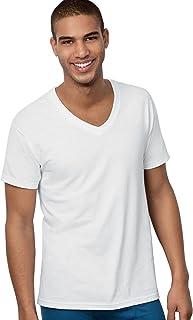 Hanes Ultimate Men's 6-Pack Best V-Neck T-Shirt