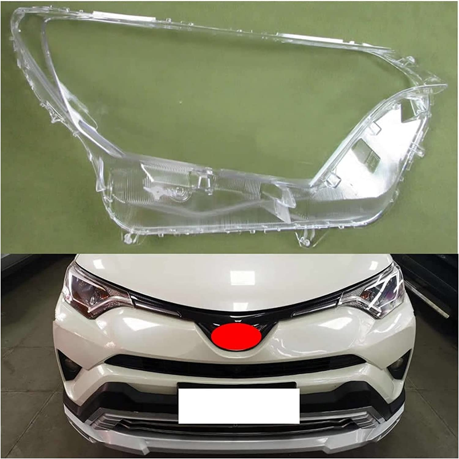 WRDD Transparent Automotive Ranking integrated 1st place Headlight Headlamps Covers Latest item Cov Shell