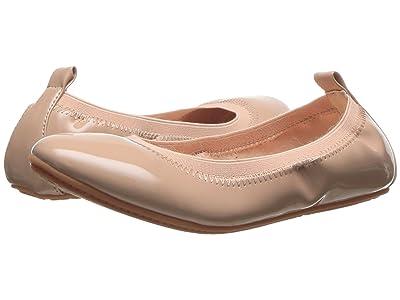 Yosi Samra Kids Miss Samara Patent Ballet Flat (Little Kid/Big Kid) (Blush Patent) Girls Shoes