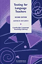 Best testing for language teachers 2nd edition Reviews