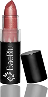 BaeBlu Organic Lipstick 100% Natural Hydrating Antioxidant-Rich, Made in USA, Hibiscus