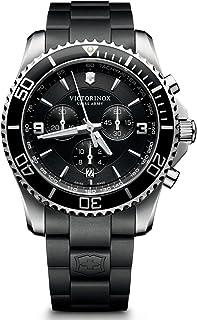 Victorinox - Maverick 241696 - Reloj de Pulsera para Hombre, cronógrafo, Cuarzo, plástico