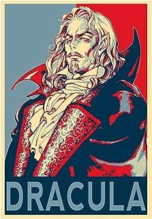General ART Poster Castlevania Propaganda Dracula - Formato A3 (42x30 cm)