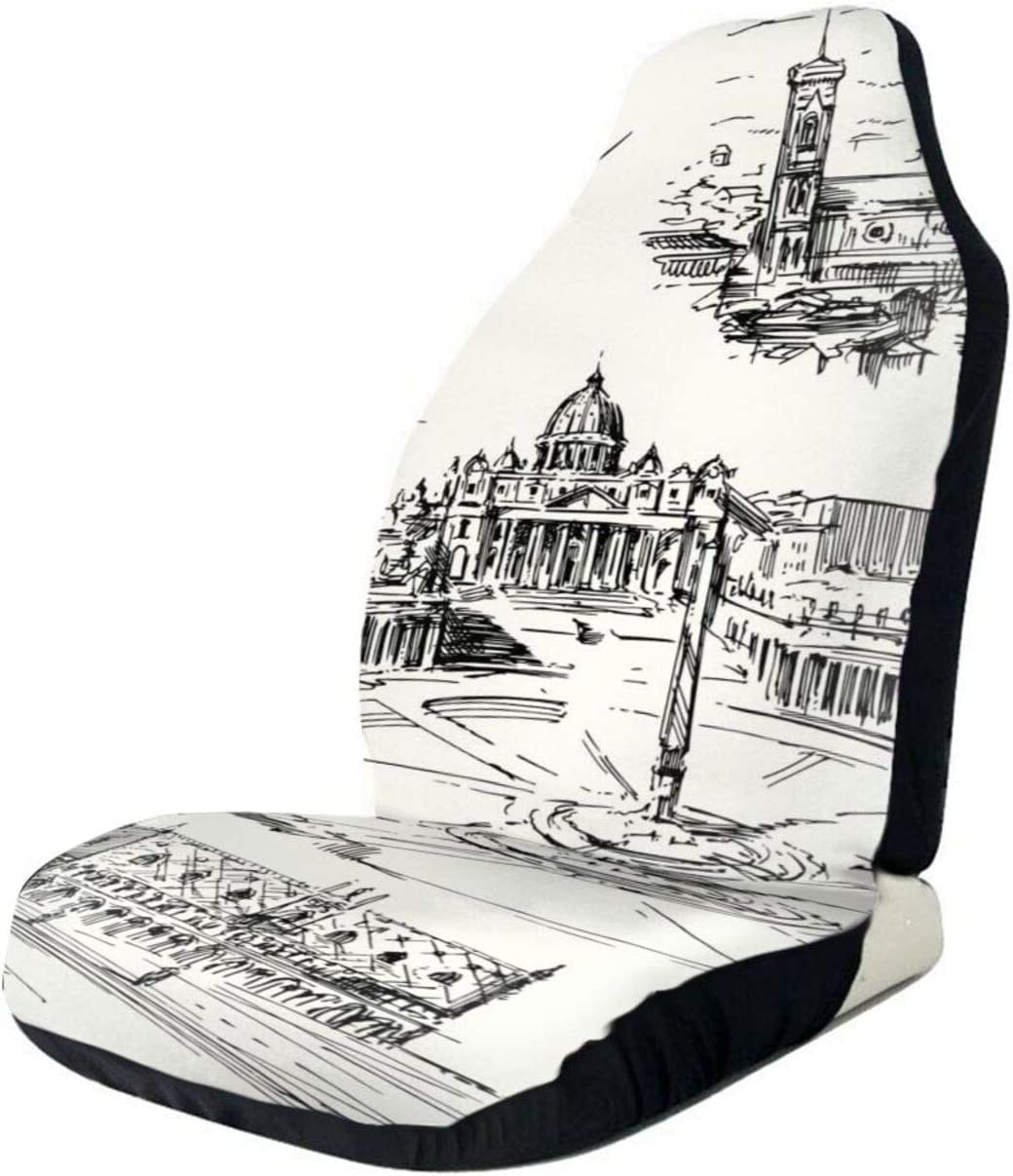 RUTO Italy Hand Painted Series Car Covers Selling and selling Suvs Seat Ca Raleigh Mall Most Set