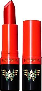 REVLON Wonder Woman 84 Collection Super Lustrous Lipstick, Red Matte