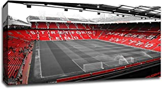 Manchester United - Old Trafford (36x20 Canvas)