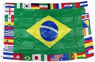 Suchergebnis Auf Für Länder Flaggen Wimpel Fußball Sport Freizeit