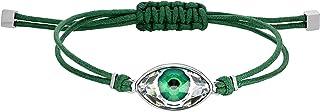 Swarovski Power Collection Evil Eye Bracelet, Green, Stainless steel