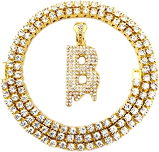 Best diamond letter b necklace Reviews