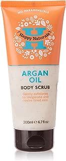Happy Naturals Argan Oil Body Scrub, 200ml