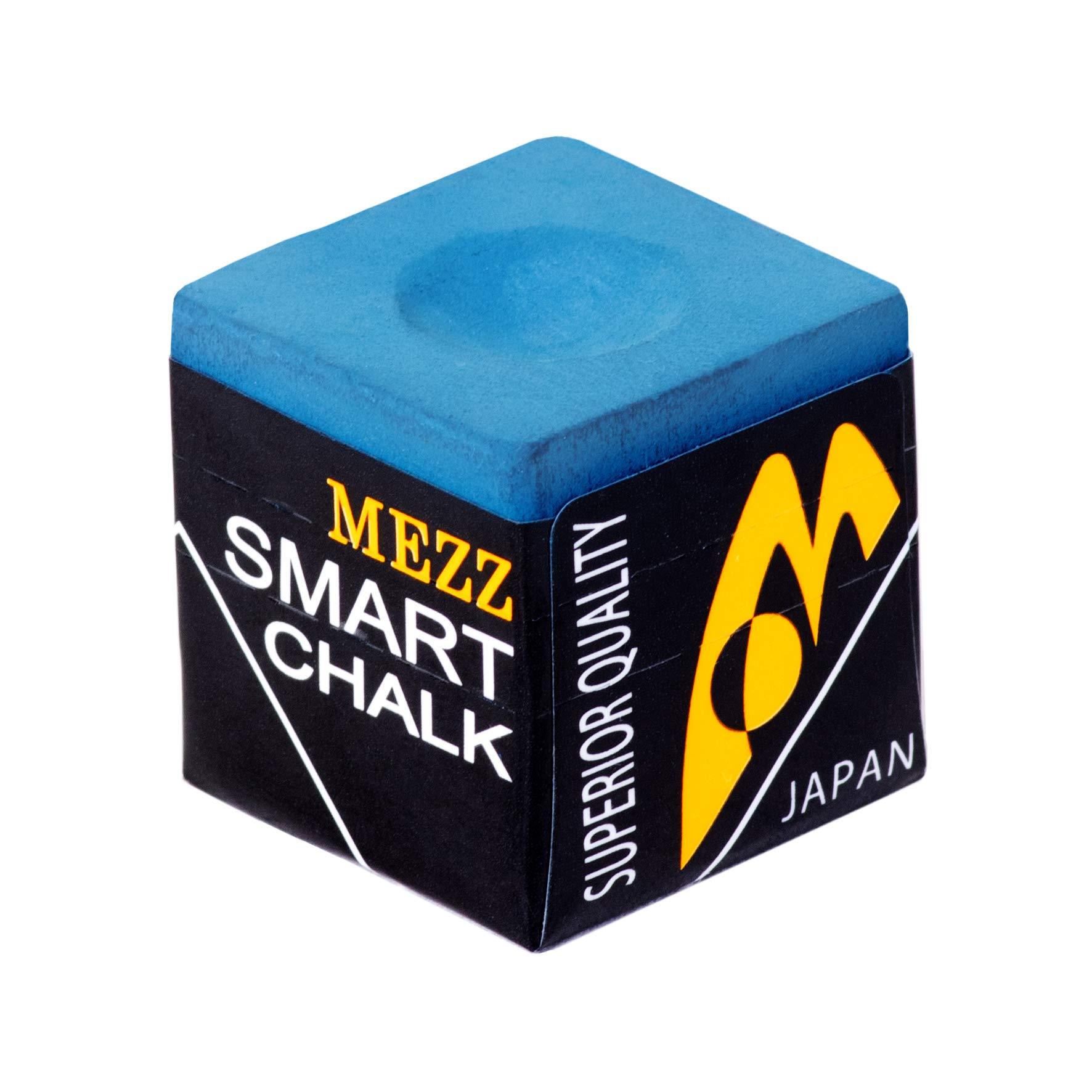MEZZ Smart - Tiza para Billar, Color Azul: Amazon.es: Deportes y aire libre