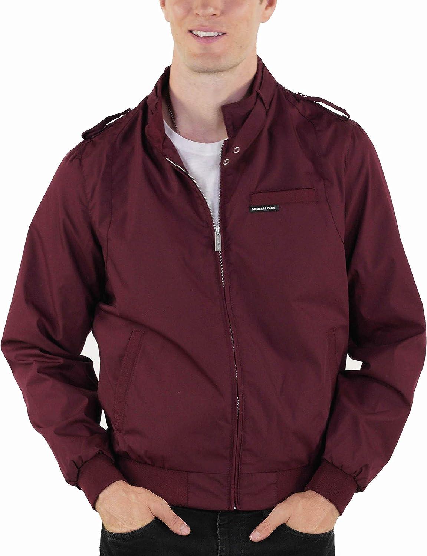 Members Only Men's Original Iconic Racer Jacket