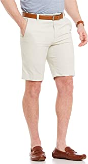 Roundtree & Yorke Flat Front Trim Fit Shorts S85HR255