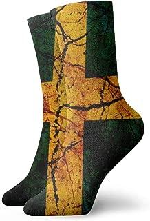 Vintage Sweden Flag Socks - Colorful Cool Funny Ventilation Sport Working Casual Crew Socks