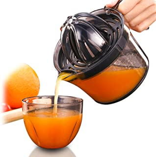 Citrus Juicer, Sunhanny Orange Lemon Manual Hand Squeezer, Anti-Slip Lid Rotation Reamer