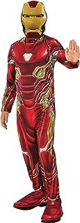 Rubie's Marvel Avengers: Endgame Child's Iron Man Mark 50 Costume & Mask, Large