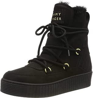 Tommy Hilfiger Kadın Cosy Bootie Moda Ayakkabılar