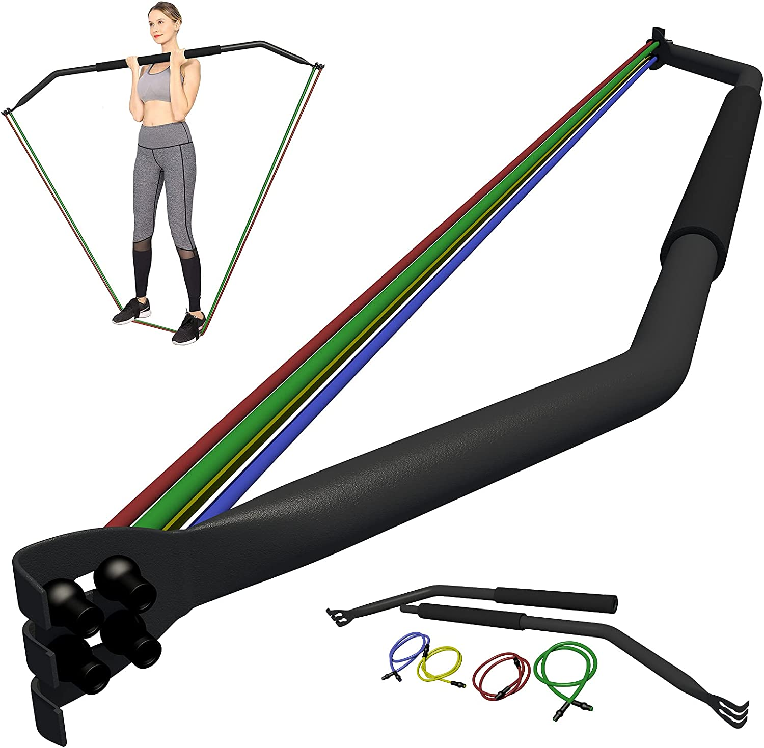Bow Home Gym Resistance Bands with Some reservation Fitness Band Long-awaited 4