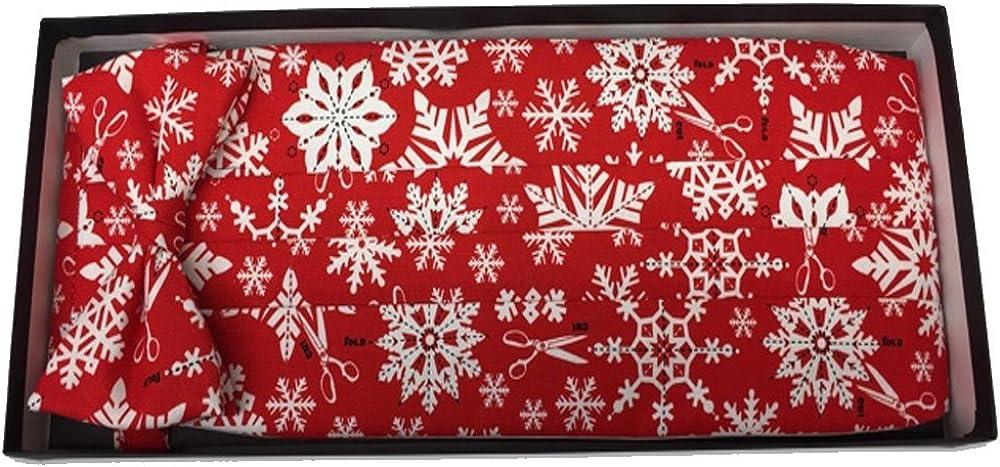 Wrapping Paper Tie and Cummerbund Set