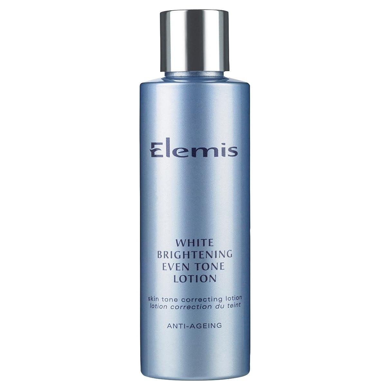 辛い定規ウガンダエレミス白い光沢さえトーンローション150ミリリットル (Elemis) - Elemis White Brightening Even Tone Lotion 150ml [並行輸入品]