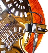 RESONATOR GUITAR PICKUP with FLEXIBLE MICRO-GOOSE NECK by Myers Pickups