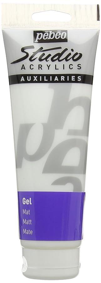 PEBEO Studio Acrylics Auxiliaries, Matt Gel, 250 ml