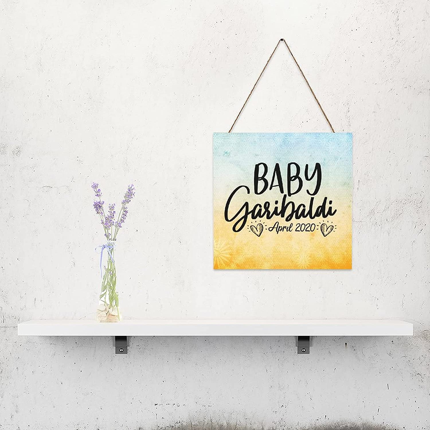 by Unbranded Printed Wood Plaque Customized Baby Cheap mail order specialty store Sign Anno SALENEW very popular