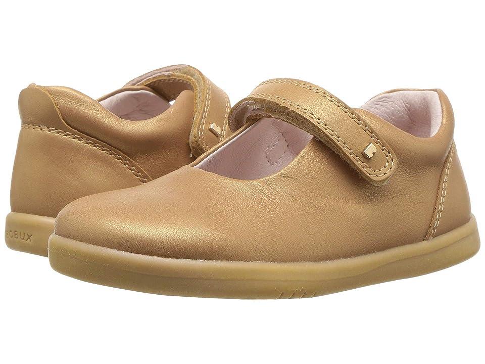 Bobux Kids I-Walk Delight (Toddler) (Caramel Shimmer) Girl