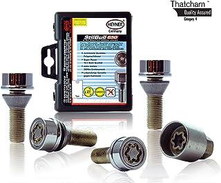 Nuevo Mini Mk1 2002-2006 tuercas de bloqueo de rueda M12x1,5 tornillos antirrobo para las aleaciones