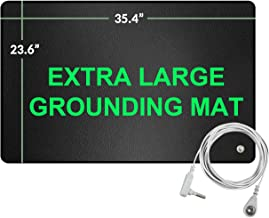 Grounding Mat,Reduce Pain, Reconnect to The Earth EMF Recovery,35.4x23.6 inches Fits for Better Working,Sleep Assist and Helps with Anxiety