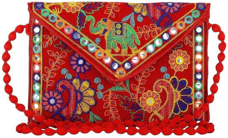 Wholesale 50 pc lot Bulk Indian Vintage Hand Bag Traditional Bridal Clutch Beaded Shoulder Bag potli Pouch Hand Bag Purses Women Purse by Craft place-89
