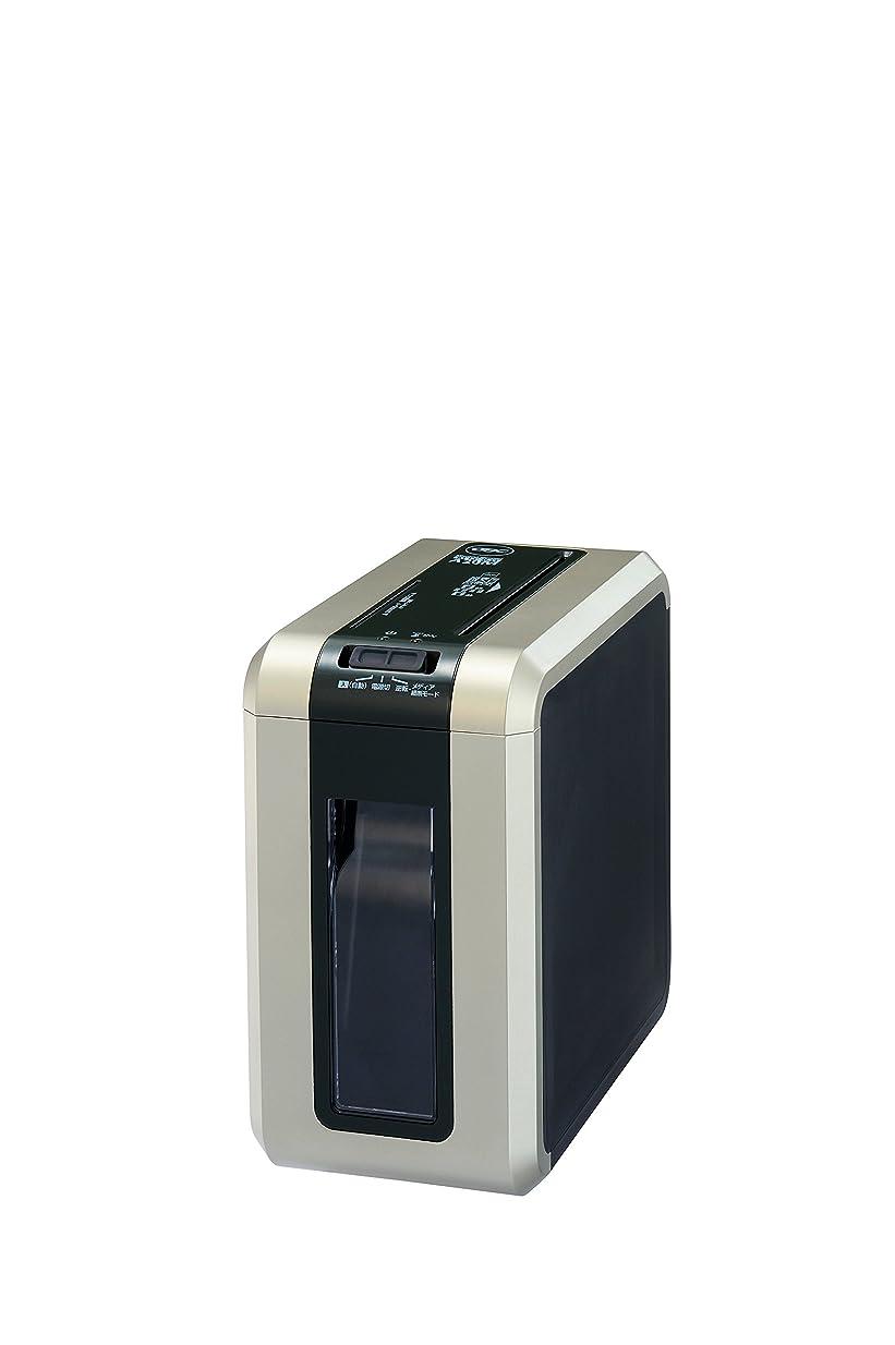 ラップトップ盲目負担GBC シュレッダー パーソナル マイクロカット CD/DVD細断 ゴールド GSHA20M-GB