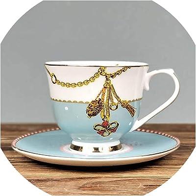 e7e6325f3f3 FAT BIG CAT Ceramic Tea Cup and Saucer Set Designer Bone China Coffee Cup  Porcelain Afternoon