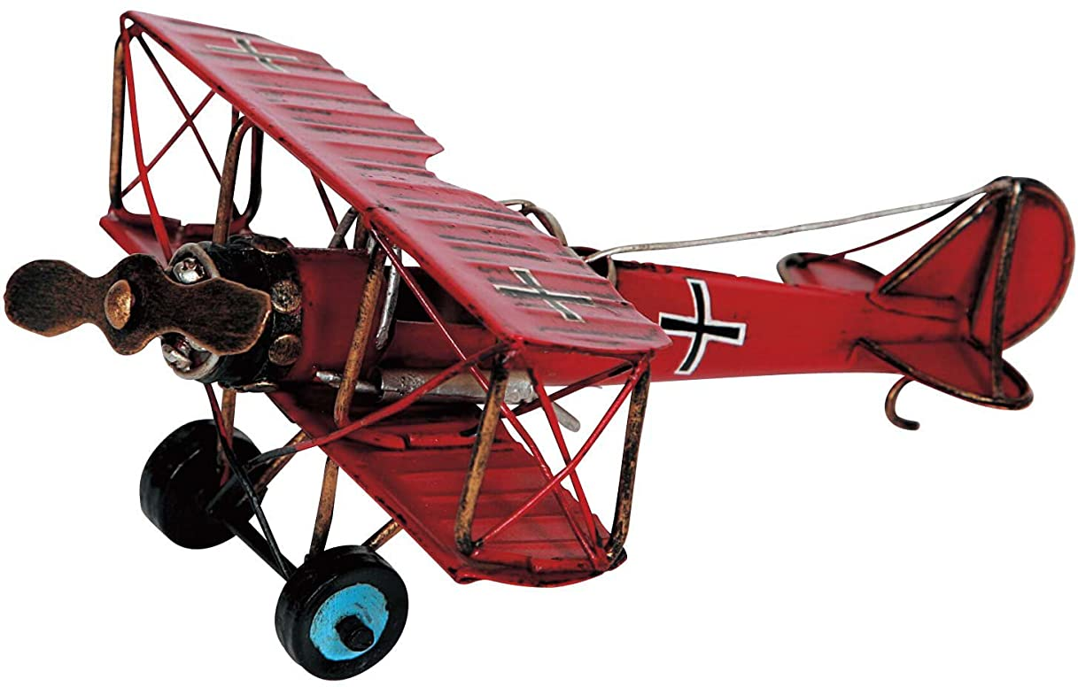サイクロプスこどもセンター接地東洋石創 オブジェ ブリキのおもちゃ(biplane) 27446