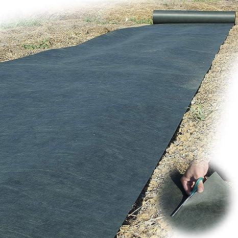 Amazon | 防草シート 超耐久防草シート・ソルグリン 1.5m×30m 1巻 厚さ約0.45mm 草よけシート 除草シート 雑草防止  (耐用年数6-7年) 砂利下 人工芝下 | DIY・工具・ガーデン